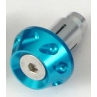 Грузики руля (пара) H020 синие OD/ID=35/14-19mm M8 универс.  SCOOTER-M