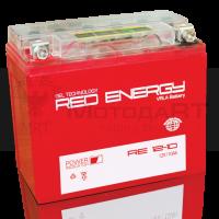 АКБ Red Energy гелевый  YB9A-A, YB9-B (137 х 77 х 135) LCD дисплей 10Ач