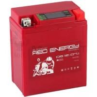 АКБ Red Energy гелевый  YTX  7L-BS (114 х 70 х 132) LCD дисплей 7Ач
