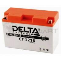 АКБ DELTA CT  YB16AL-A2 (205 х 70 х 162) 16Ач