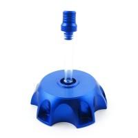 Крышка топливного бака алюминиевая d-48,5 мм SM-PARTS синяя