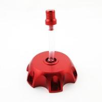 Крышка топливного бака алюминиевая d-48,5 мм SM-PARTS красная