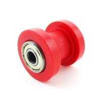 Ролик натяжения цепи привода 420, 428 d-8, красный