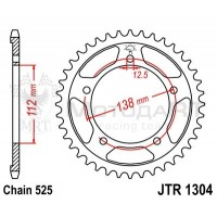 Звезда ведомая JTR1304.41