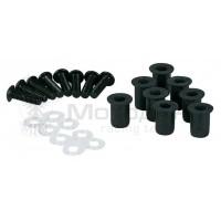 Болты для пластика с резиновой вставкой (8 шт, М5)