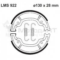 Колодки барабанного тормоза AP Racing LMS922