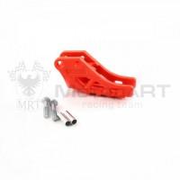 Успокоитель цепи (ловушка) для питбайка пластиковая универсальная SM-PARTS оранжевая