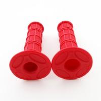Ручки руля (грипсы) - красные