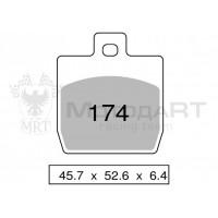 Колодки дискового тормоза Trofeo Organic 174  (LMP331) - S32