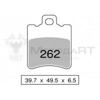 Колодки дискового тормоза Trofeo Organic 262  (LMP297) - S10